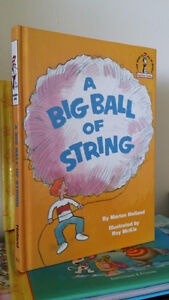 ▀▄▀Dr Seuss A BIG BALL OF STRING Hardback  Marion Holland