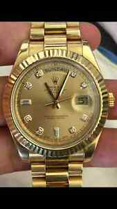 Watch Collector Looking to buy all and any hign end Watches!!!