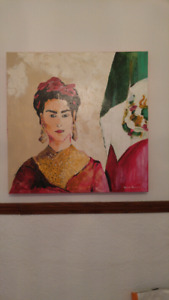 Tableau original de Maurice Richard (Frida Kahlo)