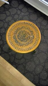 Unique Brass Stool from Iran