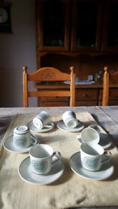 Royal Doulton 6  Cups and Saucers set