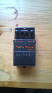 Boss MT-2 Metal Zone Distortion Pedal - New Price!