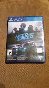 PS4 need for speed 2015 used for 6 weeks.