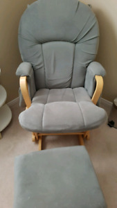 Glider and high chair