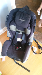 Banc d'auto Safety first 5lbs @ 80lbs