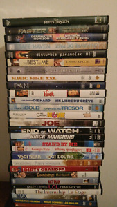 Looking to trade 45 dvds for some xbox 360 games