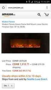 Dream Flame electric fireplace