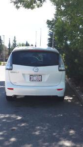 White Mazda 5