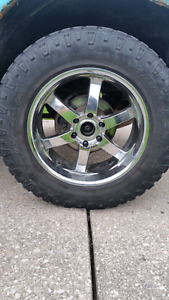 20 inch boss rims with 35 inch Duratracs