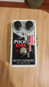 EHX Pitch Fork pitch shifter
