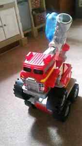 Smokey The Fire Truck