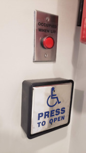 Handicap Accessible Automatic System and Steel Door