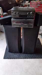 Technics Sound System (Willing to negotiate)