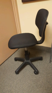 Swivel Office Chair with no arms