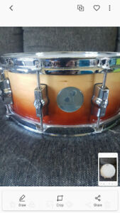 14 inch sonor 3005 maple snare. Excellent condition.