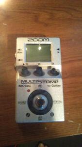 Zoom Multi Stomp MS 50G