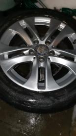 genuine Mercedes wheels