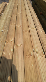 3.0m Decking Only £7.50 per length