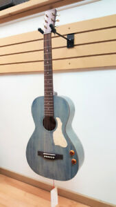 Acoustic-Electric Guitars, Denim Blue finish, made in Canada