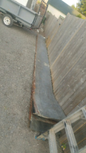 22ft long by 2ft wide 1/16th thick steel sheets