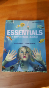 Essentials of Early Childhood Education 5th ed.