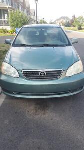Toyota corolla 1.8 L