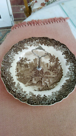 Vintage cake plate stand J & G Meakin England