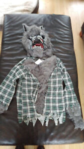Excellent Wolf Costume sold ppu