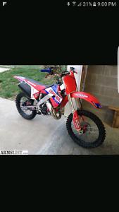 Looking for blown dirtbike or motor or running dirtbike