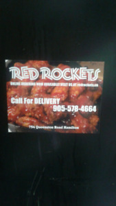 NOW HIRING FULLTIME COUNTER STAFF/PREP POSITION RED ROCKETS