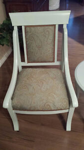 Reupholstered and refinished chairs and side table Edmonton Edmonton Area image 3