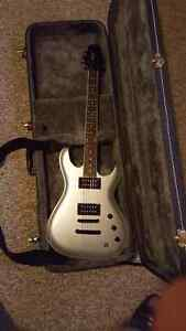 Silver Ibanez Guitar - only played a few times London Ontario image 1