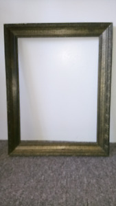 """Antique 19"""" High x 15"""" Wide Picture Frame For Sale"""