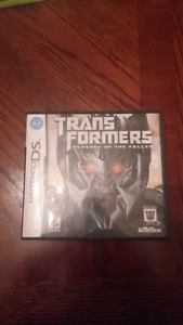 Transformers Revenge of the Fallen - Nintendo DS