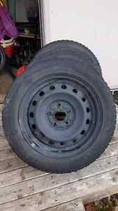 2 honda 16 inch wheels