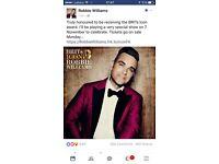Robbie Williams Live @ Troxy 7th November