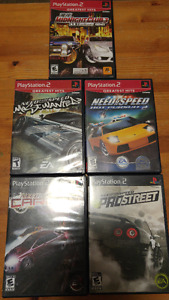 5 Awesome PS2 Street Racing Games-Need For Speeds/Midnight Club