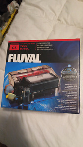 New fluval heater and filter