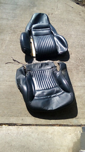 2000 Corvette leather seat covers factory insert