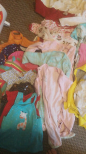 Selling girl clothing lot (6 months)