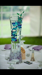 11 Wedding Centerpiece Tall Vase's For sale