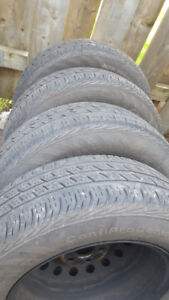 P195/65R15 89s on Rims for Summer