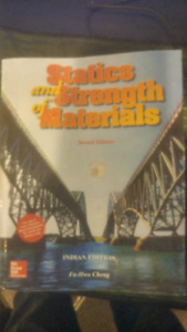 Statics and strength of materials text book
