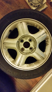 195-55-R15 rims and tires
