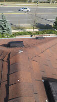 ROOF / ROOFING REPAIRS - 7 DAYS A WEEK - 647-888-5223