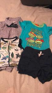 6-12 month boy summer clothing