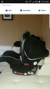 Infant Car seat and base. Bitrax be safe.