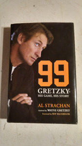 99: Gretzky: His Game, His Story, Strachan, Al Hardcover $8.00
