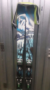 Touring gear brand new K2 Coomback Heliski with bindings and ski