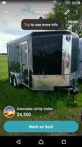 Interstate Utility Trailer
